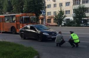 В Смоленске пешеход попал под колеса