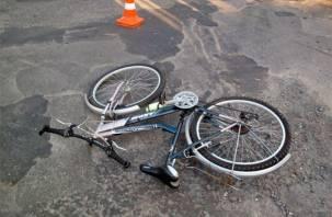 В Смоленском районе велосипедист попал под колеса иномарки