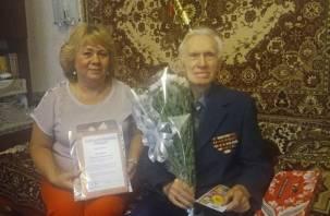 Житель Смоленска отметил 90-летие