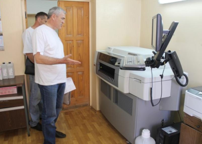 В больнице Смоленска появилось современное диагностическое оборудование