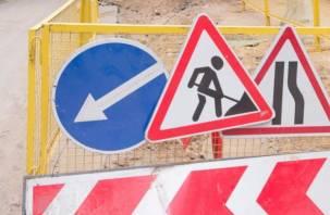 Смоленских автомобилистов предупреждают об ограничениях движения на проспекте Строителей