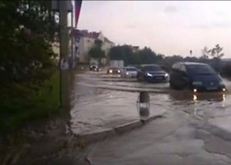 В Смоленске вслед за пожаром на фабрике «Шарм» случилось наводнение