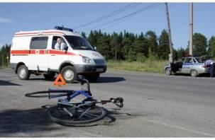 На Смоленщине водитель сбил подростка на велосипеде и скрылся