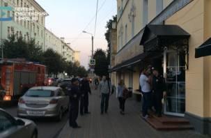 В кафе в центре Смоленска произошел скандал из-за телевизионщиков?