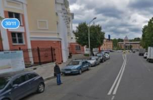Продлевается ограничение движения по улице Глинки в Смоленске