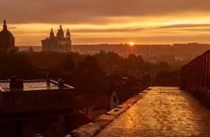 Ко Дню города записано красочное видео Смоленска