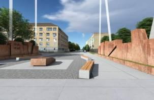 Мемориал на улице Ногина в Смоленске представили в 3D: в Сети появилось «дождливое видео»