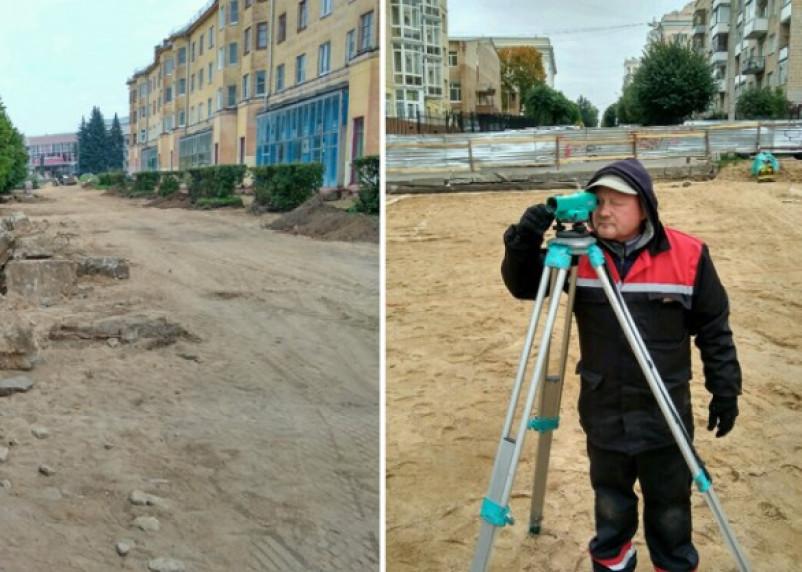 В Смоленске продолжают благоустраивать скверы за счет федеральной помощи