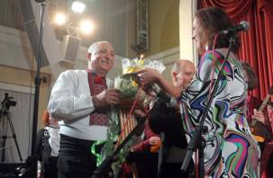 В областной филармонии отметили юбилей смоленского музыканта Владимира Третяка