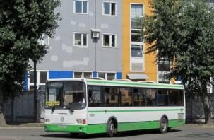 В Смоленске изменится расписание дачного автобуса