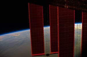 Смолянин показал первое космическое фото с борта МКС
