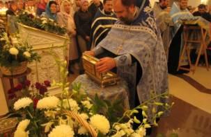 Великая христианская святыня побывала в Ярцеве