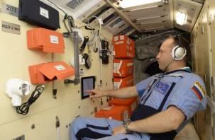 Смоленский космонавт проводит эксперимент на борту МКС