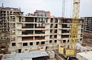На Смоленщине стали меньше строить жилья