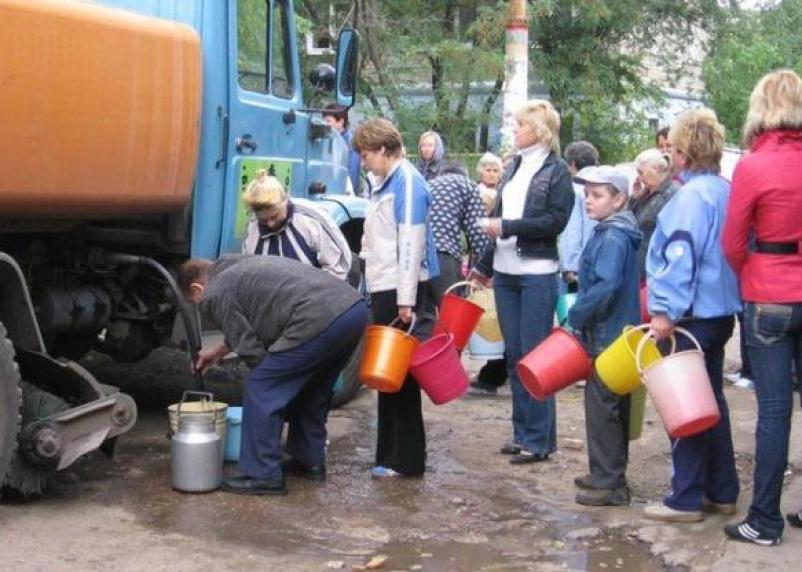 В Смоленске жители части Ленинского района остались без воды