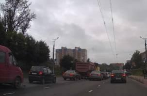 В Смоленске транспортный коллапс парализовал Киселевку