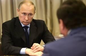 Владимир Путин обрадовал смоленского губернатора Островского?