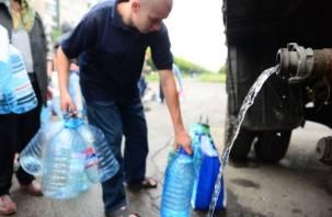 Микрорайон Южный в Смоленске остался без воды