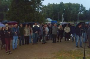 Смоленского мэра и депутата от ЛДПР освистали на митинге в лесопитомнике