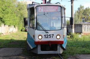 В Смоленске восстановлено движение трамваев и троллейбусов в Киселёвку