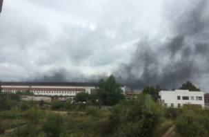 В Сафоново произошел пожар на электромашиностроительном заводе