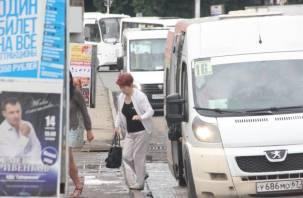 В Смоленске начали проверять маршрутки