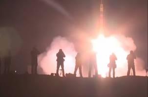«Полет нормальный»: появилось видео пуска ракеты со смоленским космонавтом на борту