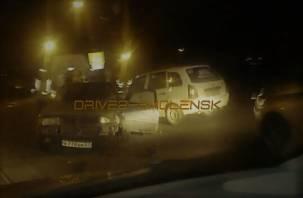 В результате ДТП в центре Смоленска пострадал человек