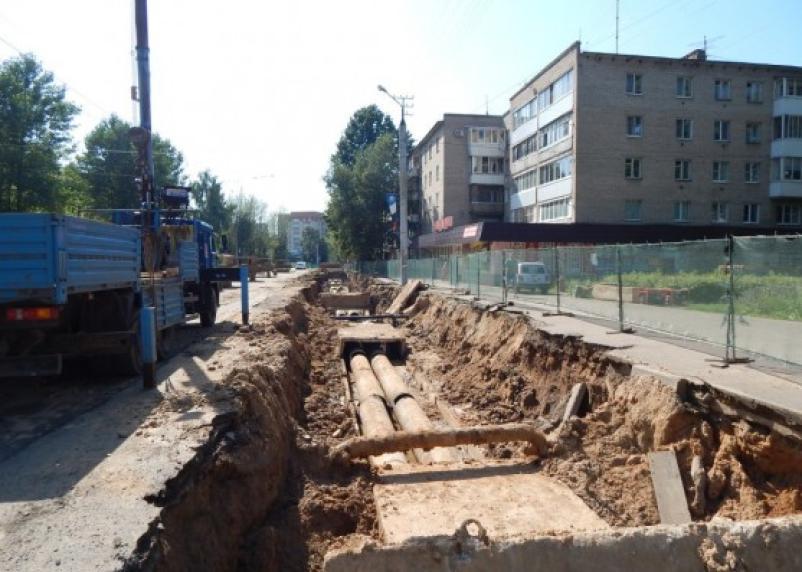 «Квадра» завершила ремонт теплосети в районе Краснинского шоссе