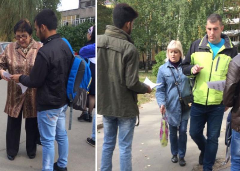 В Смоленске иностранные студенты СГМУ вышли на акцию протеста