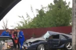 Стали известны подробности страшной аварии на улице Дзержинского в Смоленске