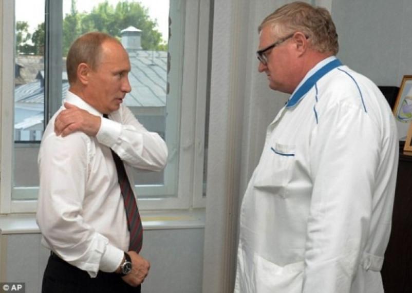 Посещение Путиным Смоленской областной больницы вошло в книгу