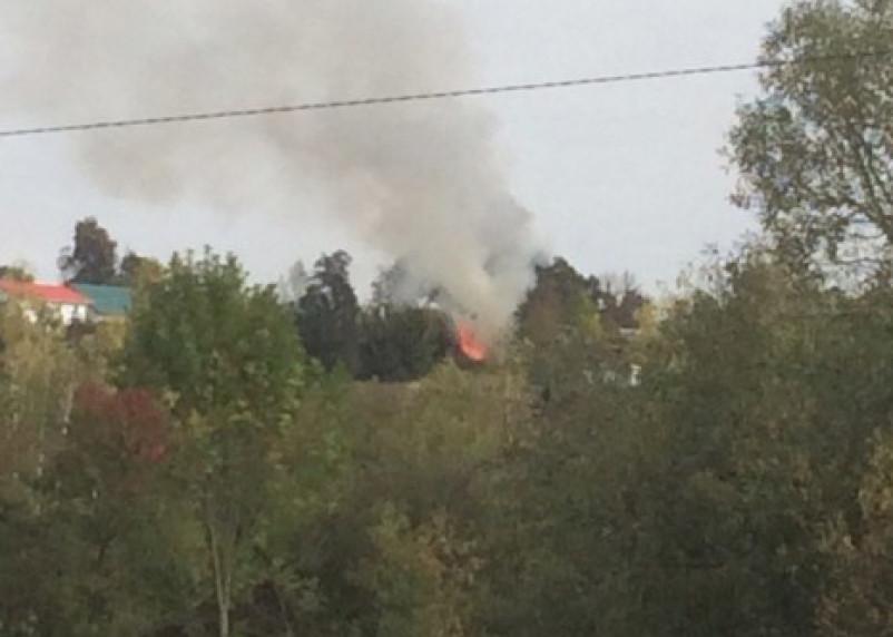 В Смоленской области пенсионерка погибла в горящем доме