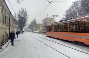 Понеслось: трамваи встали в Смоленске