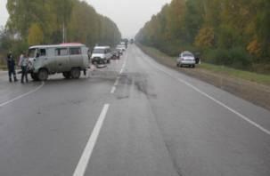 В Смоленской области авария унесла жизни двух человек