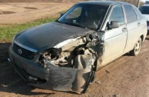 В Смоленской области произошло двойное ДТП с пострадавшими