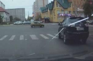 Благодаря бдительной смолянке водитель «Лексуса» заплатит штраф