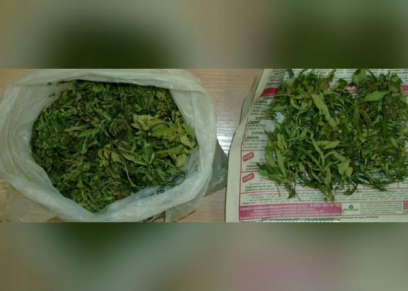 В Смоленске поймали нервного водителя с пакетом марихуаны