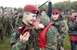 На Смоленщине состязались спецназовцы за право ношения крапового берета