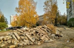 Хуже, чем было. Провальное благоустройство дворов в Смоленске.