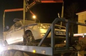 В смоленской полиции рассказали о поездке их патрульного авто на эвакуаторе