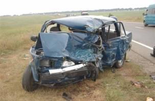 В Рославльском районе автоледи на «семерке» снесла легковушку