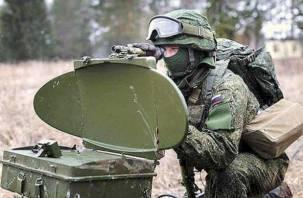 В Смоленской области военные разведчики получили уникальную технику