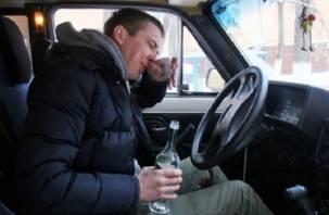 По Смоленщине по-прежнему разъезжают пьяные водители