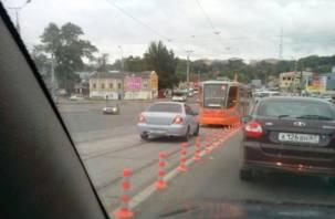 Смоленским автохамам вернут раздолье на Пятницком путепроводе