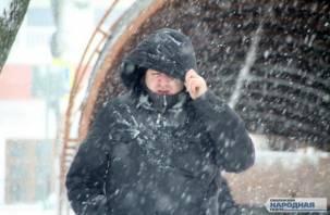 Завтра смолянам обещают первый снег