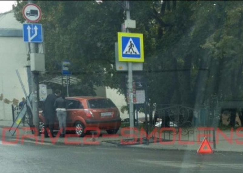 На Большой Советской в Смоленске снова жесткая авария