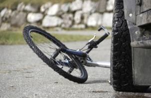 В Десногорске УАЗ сбил велосипедиста