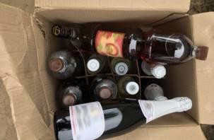 На Смоленщине прикрыли «лавочку» по торговле «левым» алкоголем и сигаретами