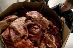 Через Смоленск не пустили тонны говядины «с душком»